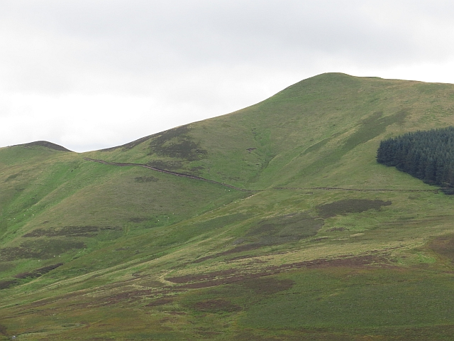 Old Kirk Road across Scald Law