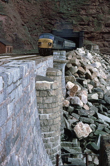 Sea Defences at Parson Tunnel
