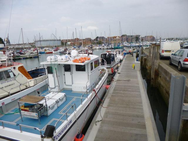 Weymouth, fishing boats
