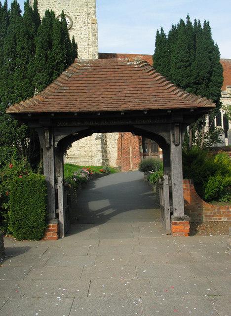 Lychgate, Holy Trinity Church, Rayleigh