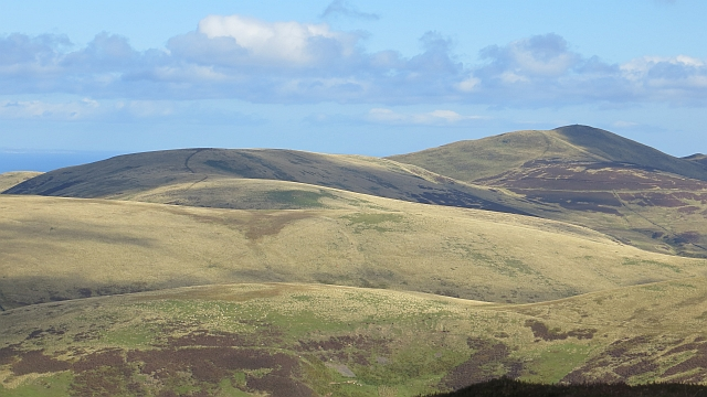 Capelaw Hill and Allermuir Hill