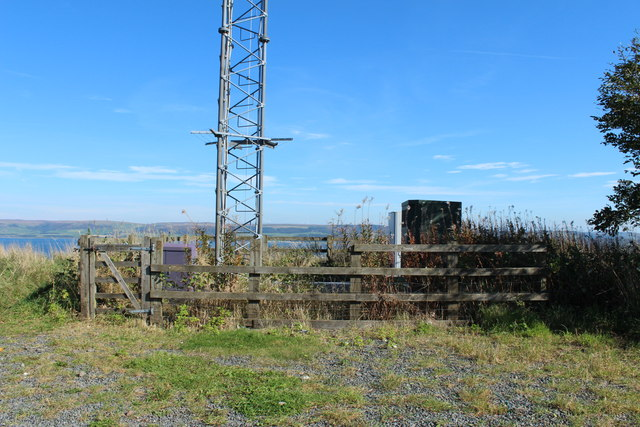 Mast on Gallow Hill
