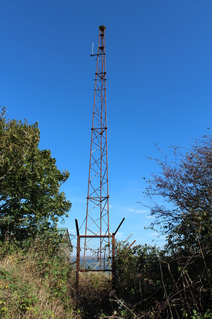 Old Mast on Gallow Hill