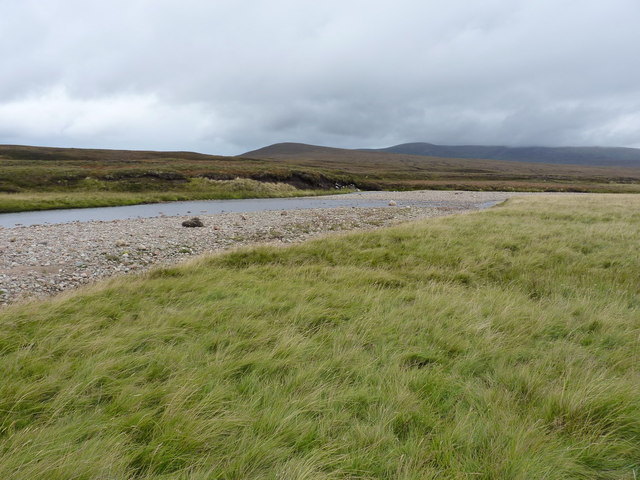 River Feshie - looking downstream