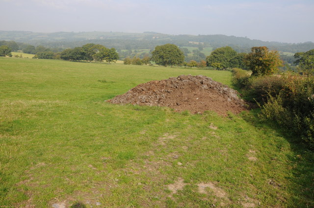 Farmland near Bwlch-y-Ffridd