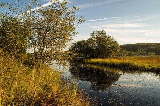 Morning on Loch Mannoch