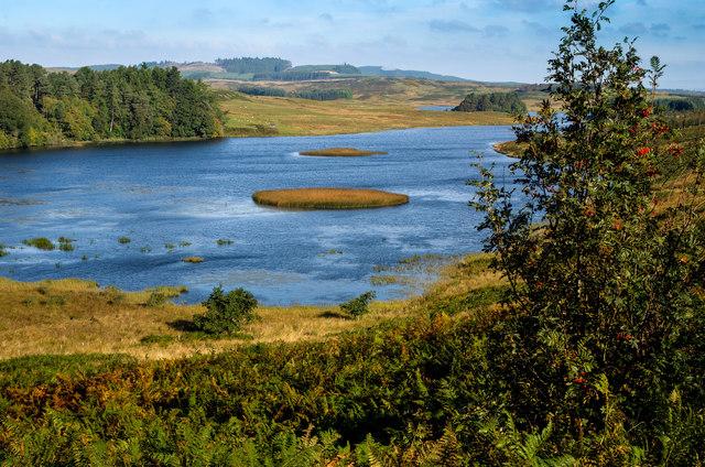 Looking over Loch Mannoch