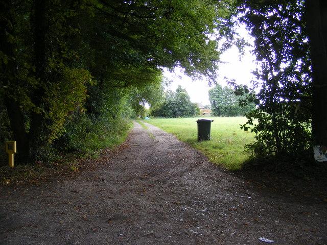 Entrance to Houghen Farm
