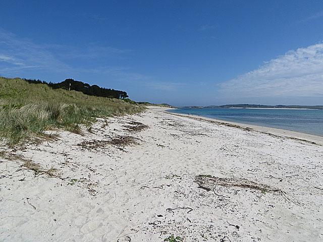 Northern part of Pentle Bay, Tresco
