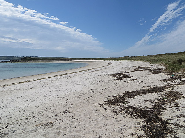 Southern part of Pentle Bay, Tresco