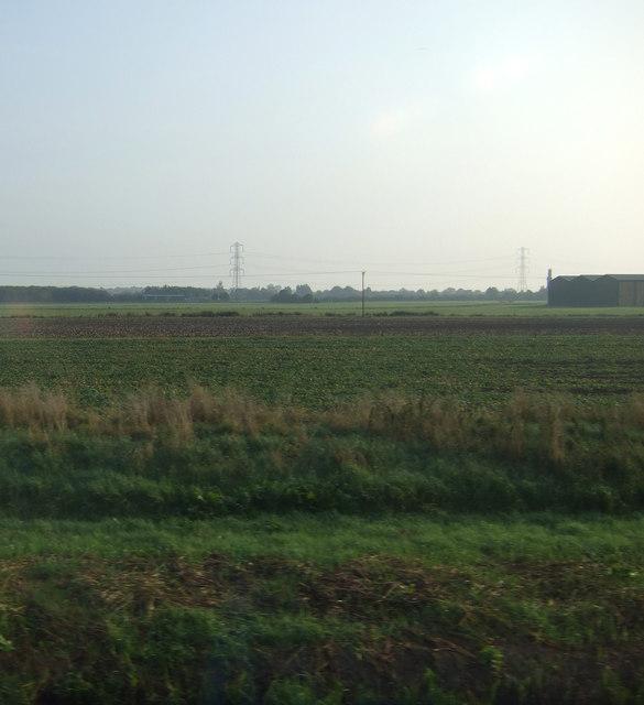 Farmland near Forbek Farm