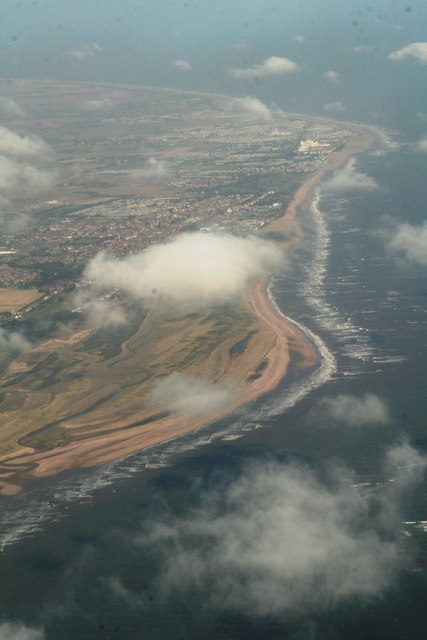 Gibraltar Point Nature Reserve and Skegness (aerial 2013)