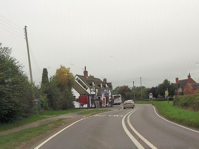 Lea Cross Tavern on A488