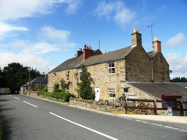 Stone cottages at Ruffside