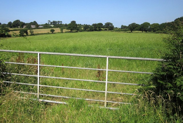 Field entrance near Town Moor Cross