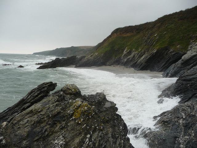 Coastline below Treloan near Portscatho