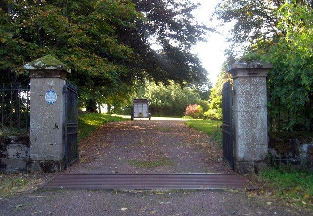 Entrance to Cormiston Estate