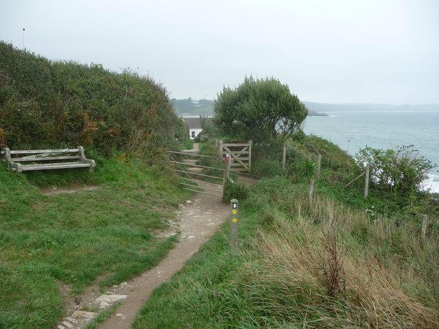 On the coastal path near Portscatho