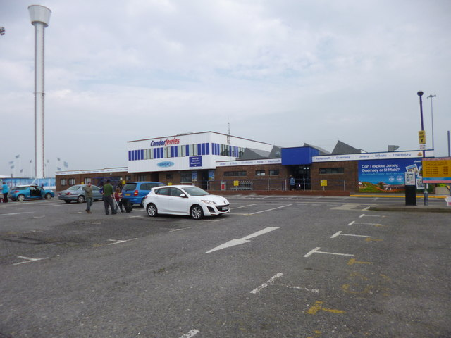 Weymouth, ferry terminal