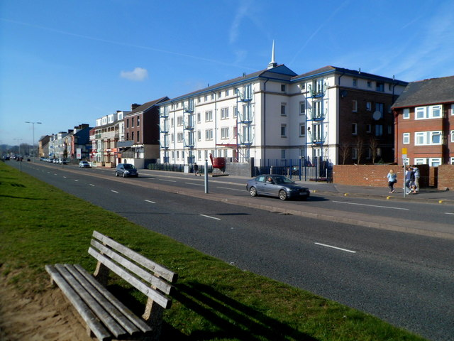 Oystermouth Road west of Bond Street, Swansea