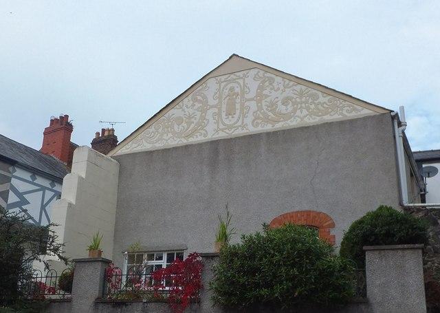 Interesting fresco - Conwy
