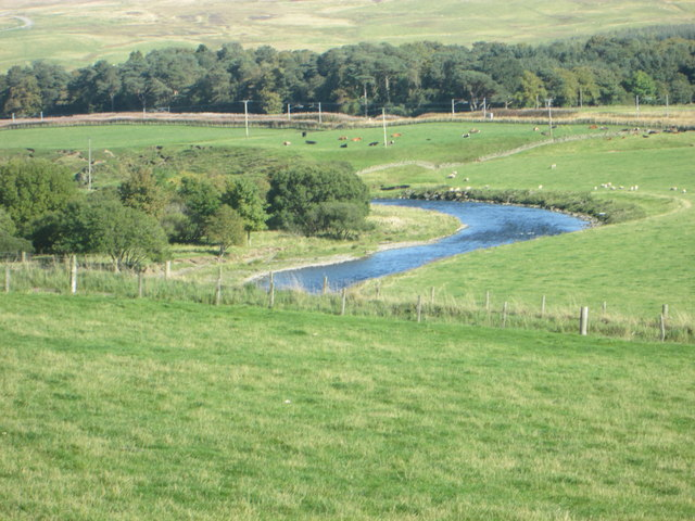 A view of River Clyde near Moat