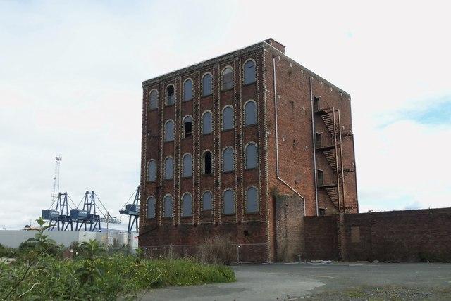 Glebe Sugar House Refinery (Former), Ker Street, Greenock - 2
