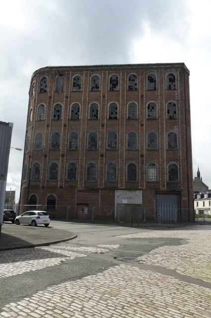 Glebe Sugar House Refinery (Former), Ker Street, Greenock - 3