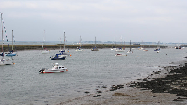 Boats in Bradwell Creek