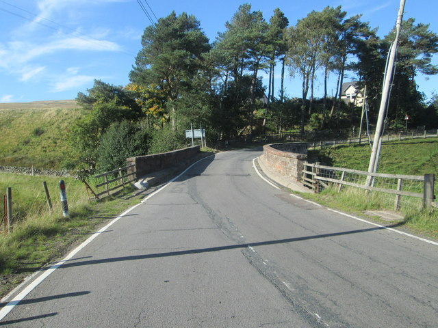 Bridge carrying the A702 over the Elvan Water