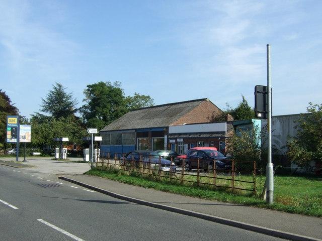 Service station, Mareham le Fen
