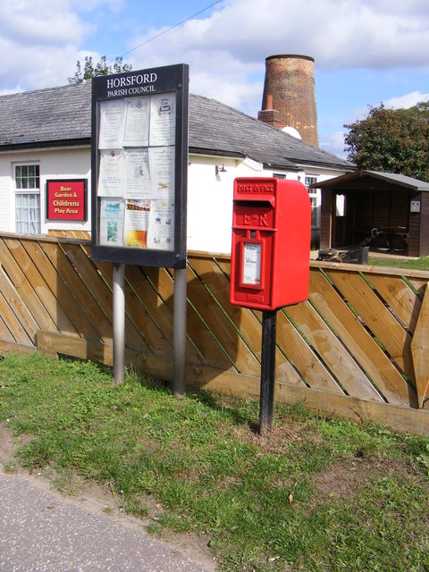 Village Notice Board & Mill Lane Postbox