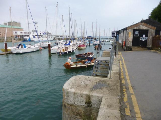 Weymouth, ferry boat