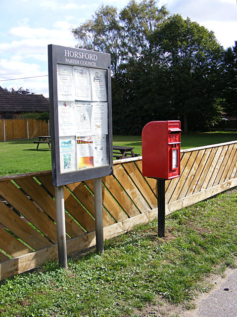 Village Notice Board & Mill Lane Postbox