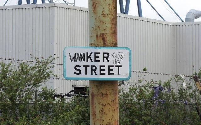 Street Sign Graffiti, Greenock