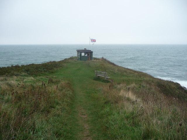 Headland near Porthcurnick Beach