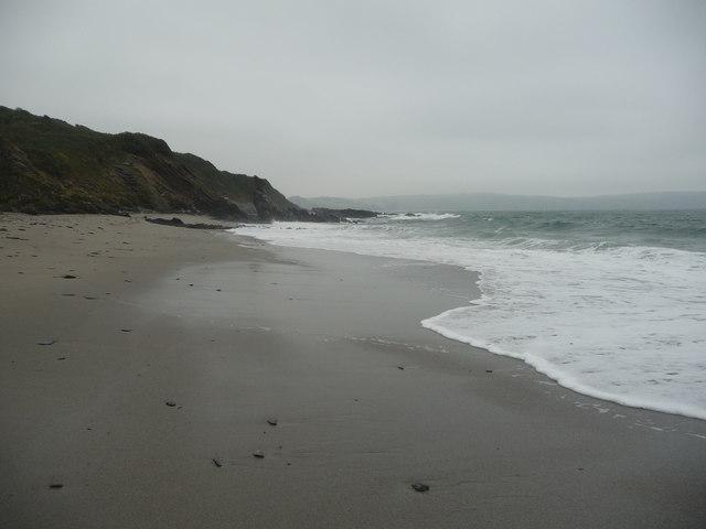 On Porthbean Beach in September