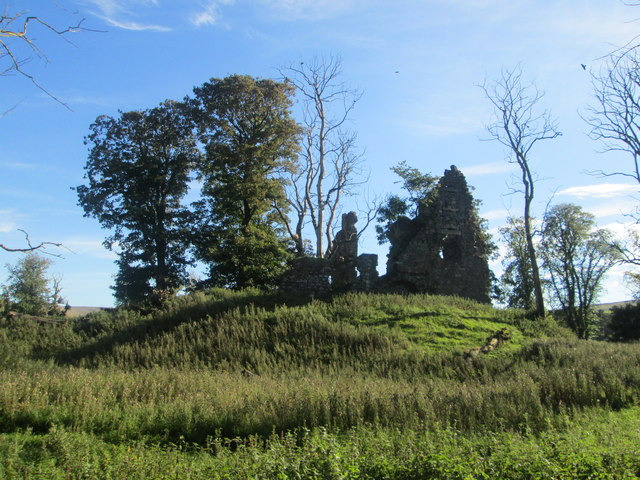 Ruins of Crawford Castle