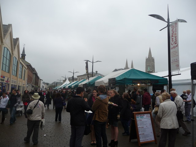 Part of the Cornwall Food & Drink Festival 2013 in Truro