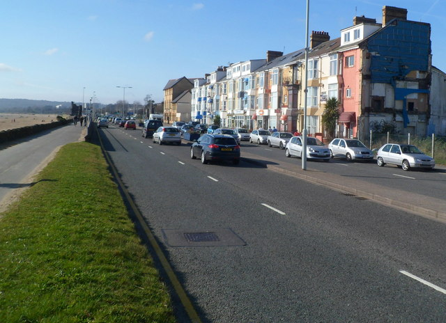 Oystermouth Road Swansea west of a development site