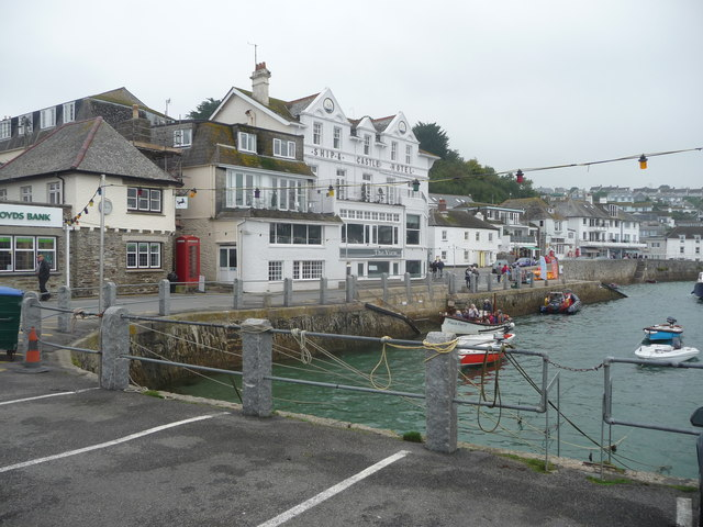 Part of the harbour, St. Mawes, Cornwall