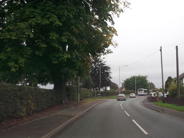 Bogey Lane from A488 at Pontesbury