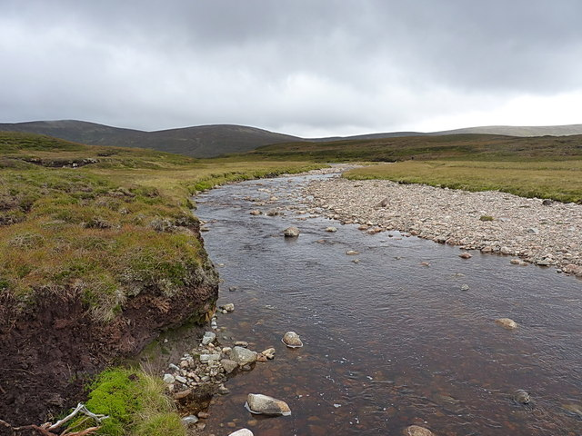 Looking up the upper Feshie