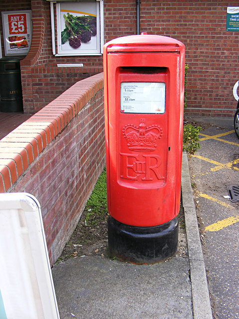 High Street Post Office Postbox