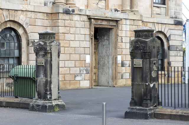 Gate Posts at St Thomas' Church (Former), Grey Place, Greenock
