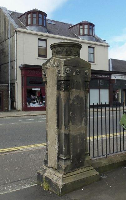 Gate Post Detail at St Thomas' Church (Former), Grey Place, Greenock