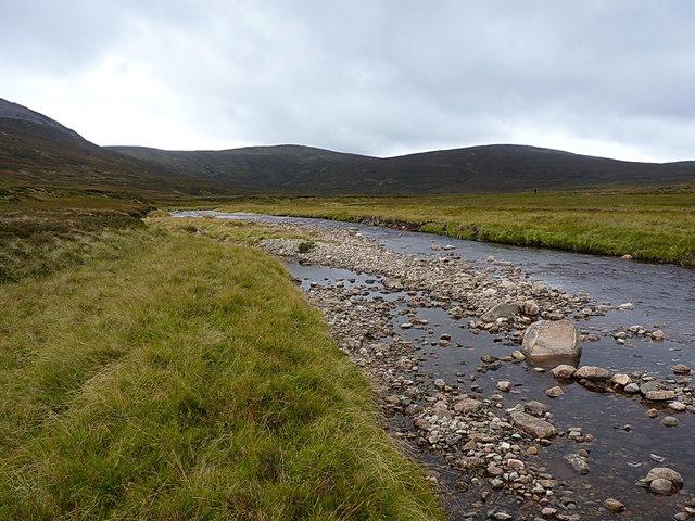 Upstream on the Feshie