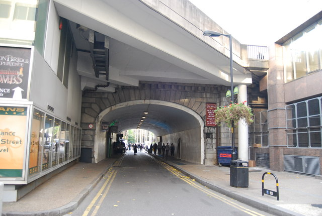 London Bridge Arch over Tooley St