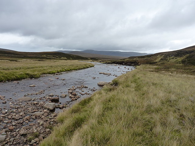 Downstream on the upper Feshie