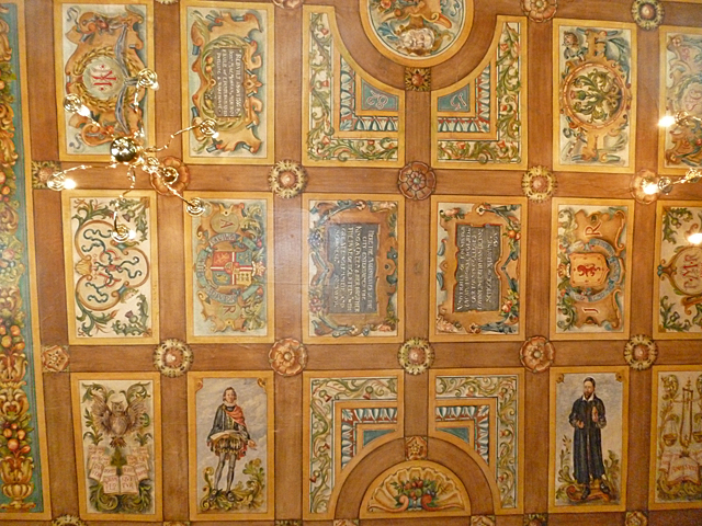 Painted Ceiling, Riddle's Court (1)